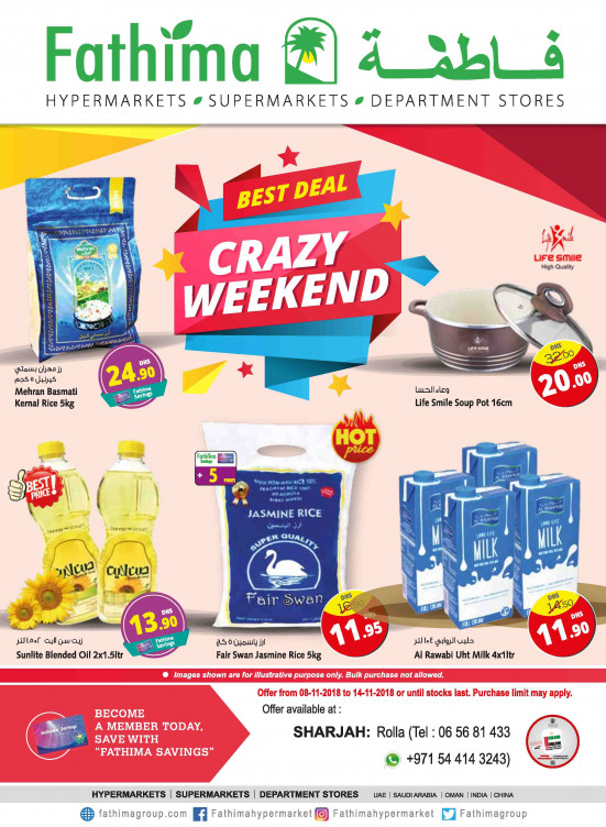 Crazy Weekend Deals - Sharjah