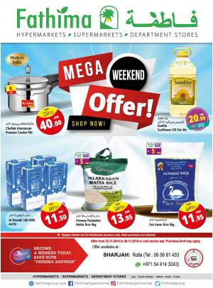 Mega Weekend Offers - Sharjah