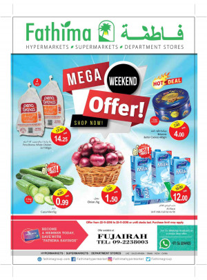 Mega Weekend Offers - Fujairah