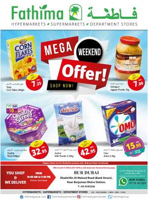Mega Weekend Offers - Bur Dubai