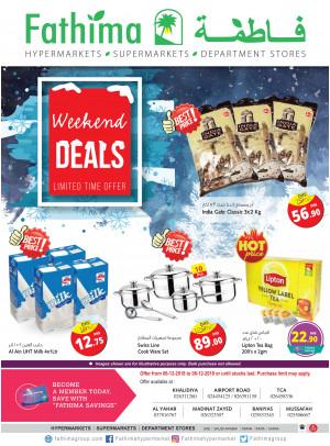 Weekend Deals - Abu Dhabi & Al Yahar Branches