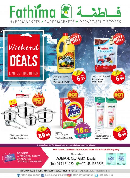 Weekend Deals - Ajman