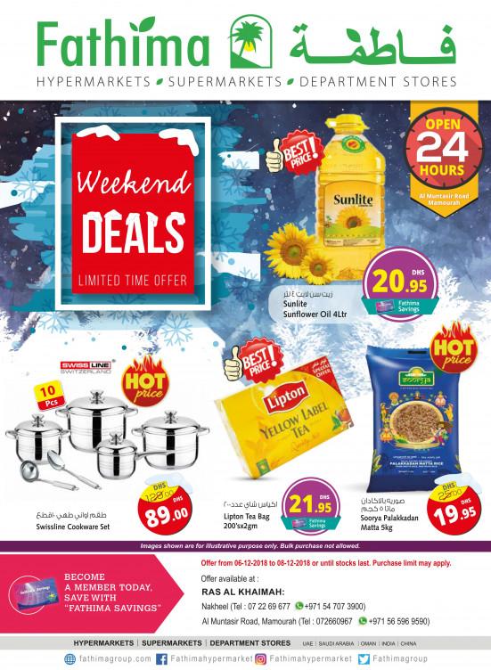 Weekend Deals - Ras Al Khaimah Branches