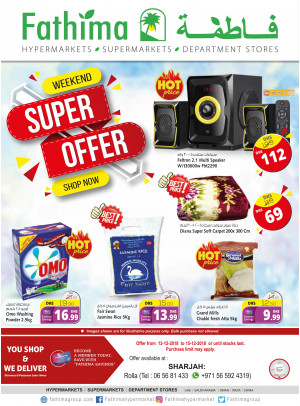 Weekend Super Offers - Sharjah