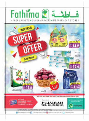 Weekend Super Offers - Fujairah