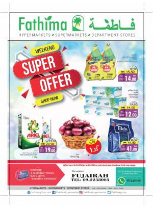 Weekend Super Offers - Fujairah