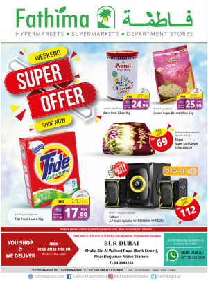 Weekend Super Offers - Bur Dubai