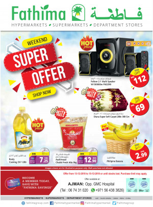 Weekend Super Offers - Ajmani