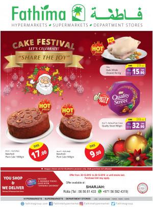 Cake Festival - Sharjah