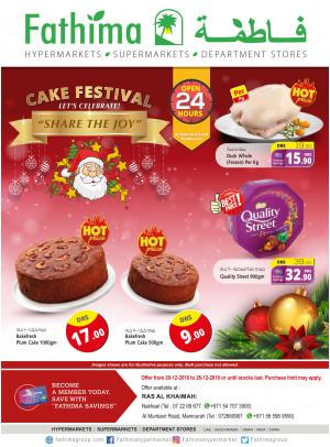 Cake Festival - Ras Al Khaimah Branches