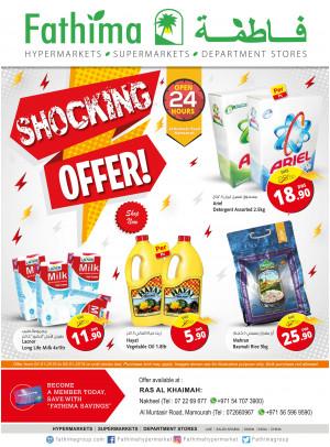 Shocking Offers - Ras Al Khiamah