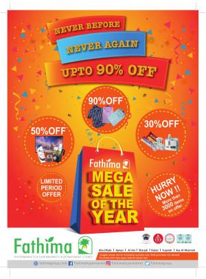 Mega Sale of The Year - Sharjah