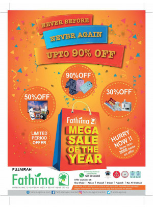 Mega Sale of The Year - Fujairah