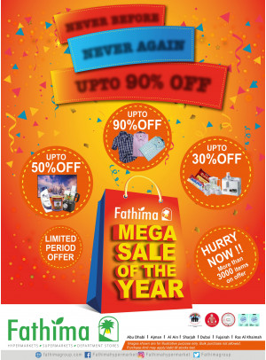 Mega Sale of The Year - Sharjah