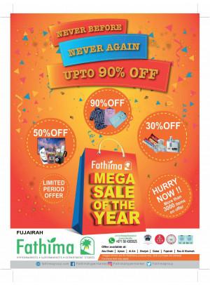 Mega Sale of The Year - Fujairah