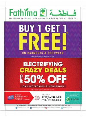Mega Offers & Electrifying Crazy Deals - Fujairah