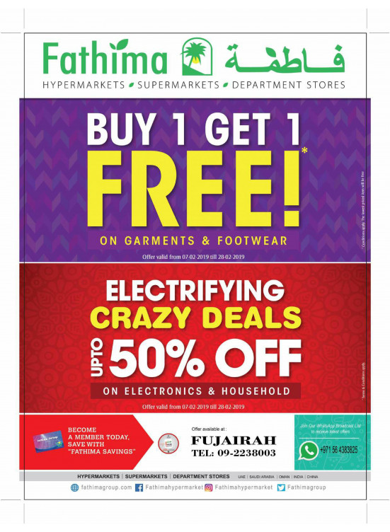 Mega Offers & Electrifying Crazy Deals - Fujairah