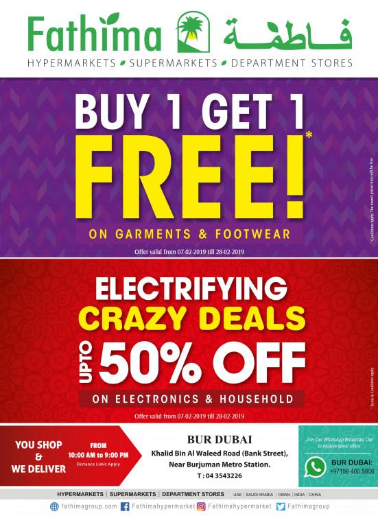 Mega Offers & Electrifying Crazy Deals - Bur Dubai
