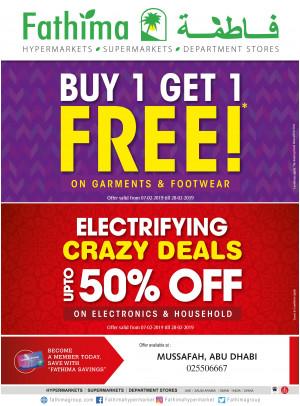 Mega Offers & Electrifying Crazy Deals - Mussafah
