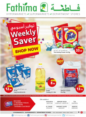 Weekly Savers - Abu Dhabi
