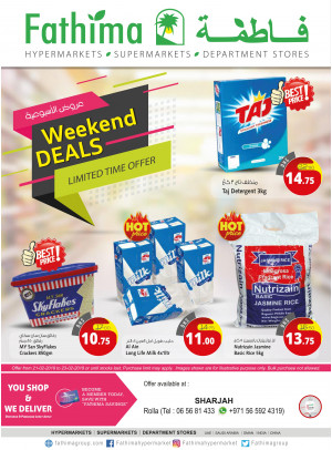 Weekend Deals - Sharjah