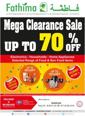 Mega Clearance Sale - Sharjah