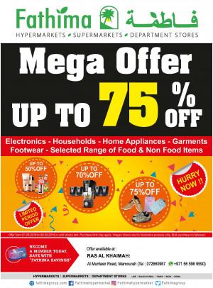 Mega Offer Up to 75% OFF - Ras Al Khaimah Branch 2