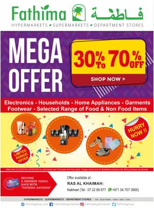 Mega Offer 30% to 70% OFF - Ras Al Khaimah 1
