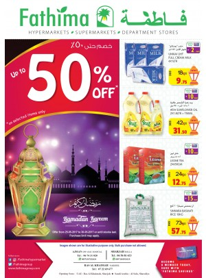 Ramadan Offers - Ajman, Sharjah & Rak Branches