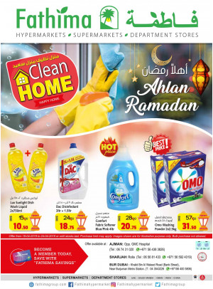 Ahlan Ramadan & Clean Home Offers