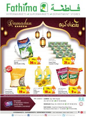 Ramadan Kareem Offers - Bur Dubai, Sharjah & Ajman