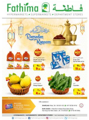 Ramadan Kareem Offers - Sharjah & Dubai