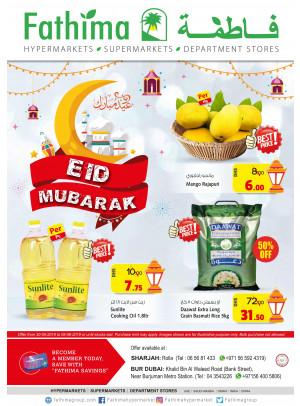 Eid Mubarak Offers - Sharjah & Bur Dubai