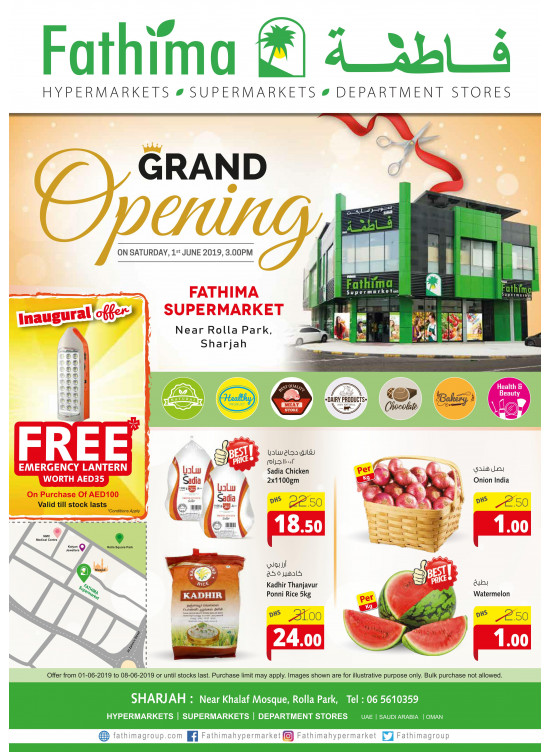 Grand Opening Offers - Near Rolla Park