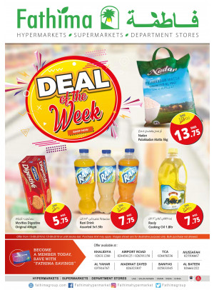 Deal Of The Week - Abu Dhabi and Al Yahar Branches