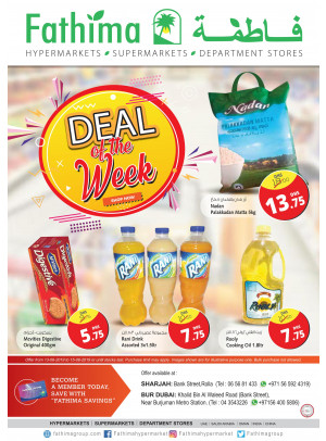 Deal Of The Week - Sharjah & Bur Dubai