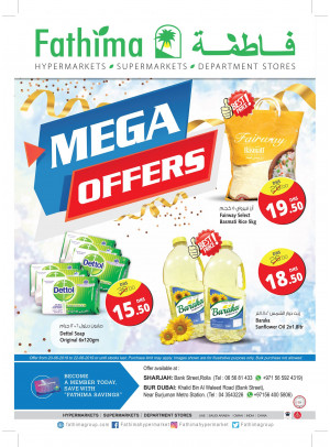 Mega Offers - Sharjah & Bur Dubai