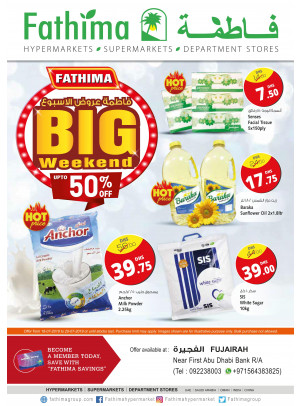 Big Weekend Offers - Fujairah