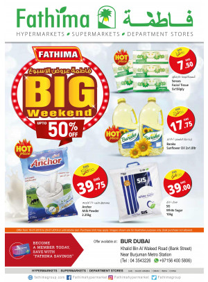 Big Weekend Offers - Bur Dubai