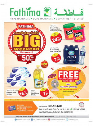 Big Weekend Offers Vol. 2 - Sharjah