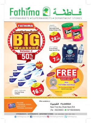 Big Weekend Offers Vol. 2 - Fujairah