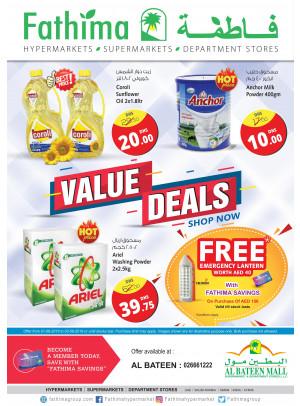 Value Deals - Al Bateen Mall, Abu Dhabi