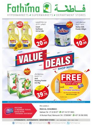 Value Deals - Ras Al Khaimah