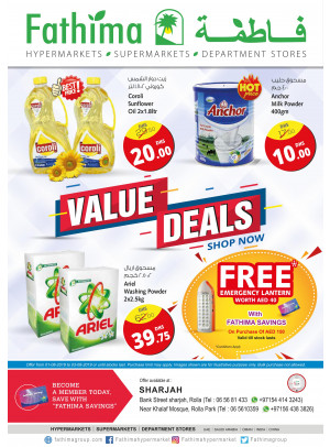Value Deals - Sharjah