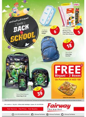 Back To School Offers - Ajman
