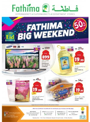 Big Weekend - Bur Dubai, Ajman, Sharjah & Rak Branches