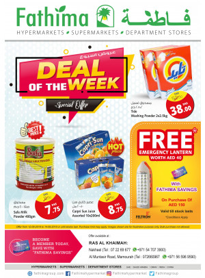 Deal of the Week - Ras Al Khaimah