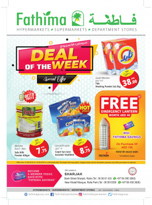 Deal of the Week - Sharjah