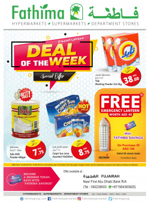 Deal of the Week - Fujairah