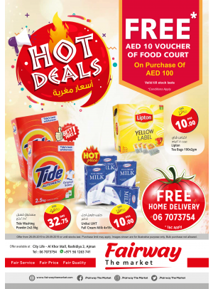 Hot Deals - Fairway The Market, Ajman